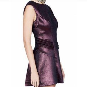 NWT SASS & BIDE A Fallen Star metallic Dress S 4